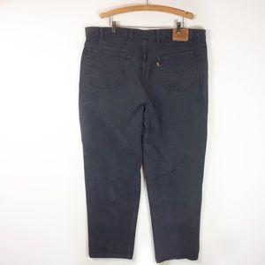 Vintage Levis 545 Loose Fit Orange Tab 44 x 32
